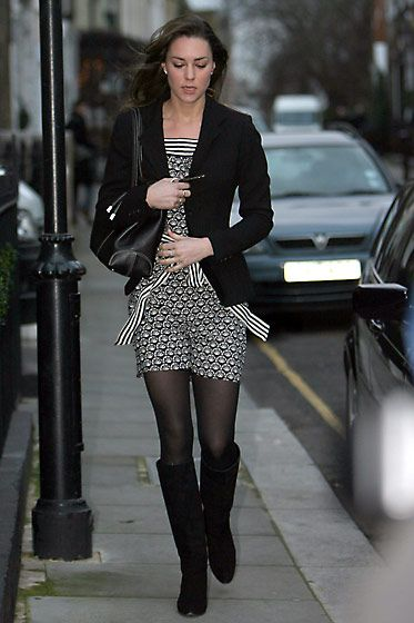 January 9, 2007 Critics' Pick Where: Leaving for work in London.Label Season Model: Photo: Christie Goodwin/Getty Images