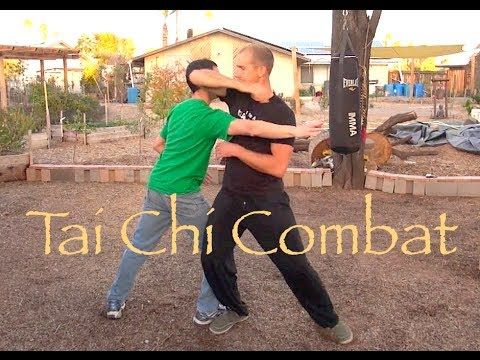 #Tai Chi Combat - Push Hands #ShaolinCenter