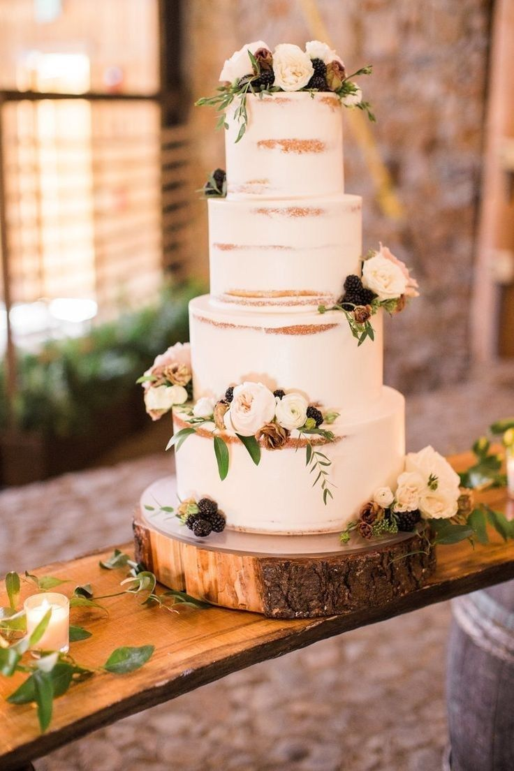 58 Simple Wedding Cakes Ideas For Your 2019 Wedding With Images