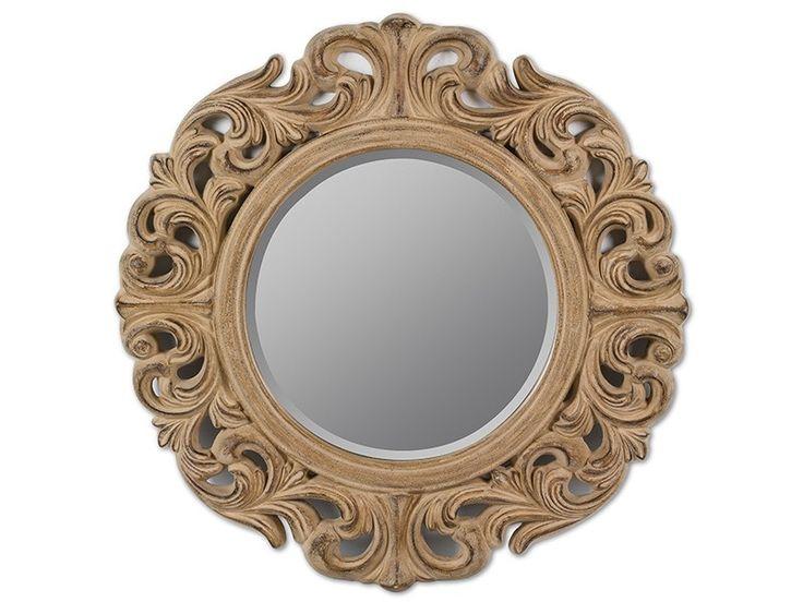 Espejo barroco sol envejecido