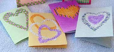 Valentine's Day Crafts | Easy Homemade Valentine's Greeting Cards