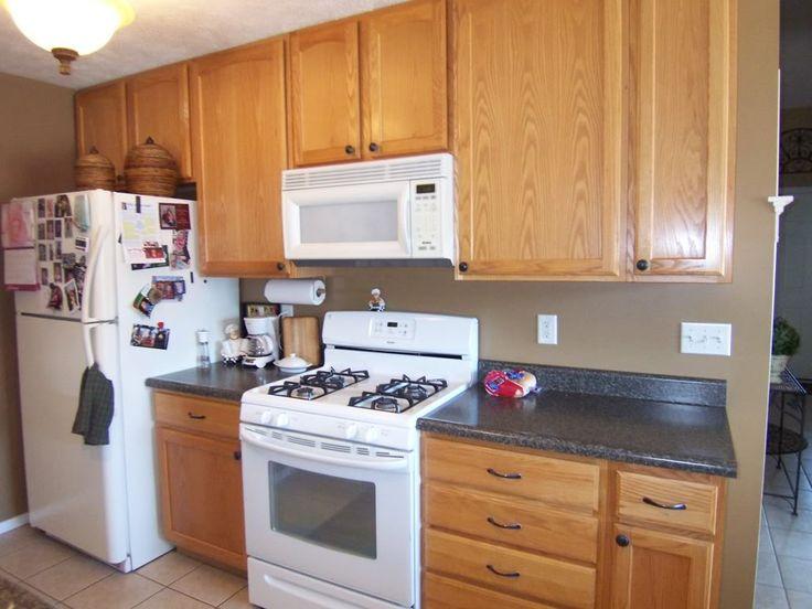 Can You Paint Dark Wood Kitchen Cabinets White - Sarkem.net