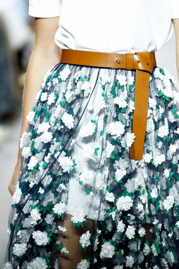 I'd wear this Michael Kors skirt every single day. Maybe even to sleep. That's how obsessed I am with this gorgeous piece!