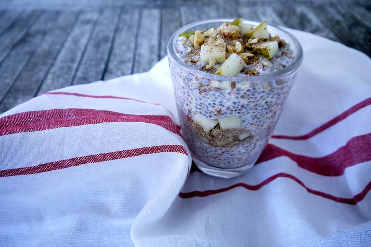 Pear Bircher Muesli - Jennifer Moore