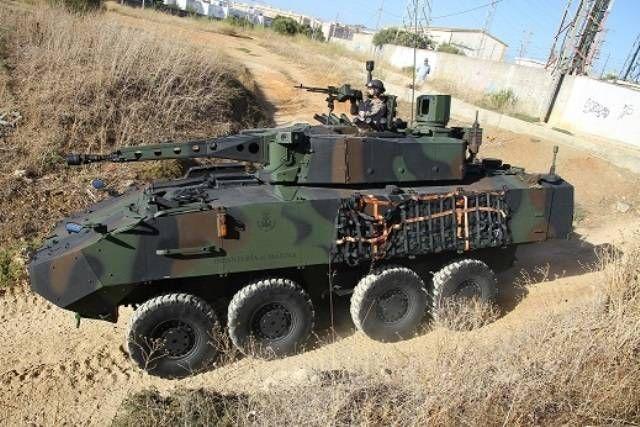 La Infantería de Marina española se desplegará en Letonia con sus 8x8 Piranha III -noticia defensa.com