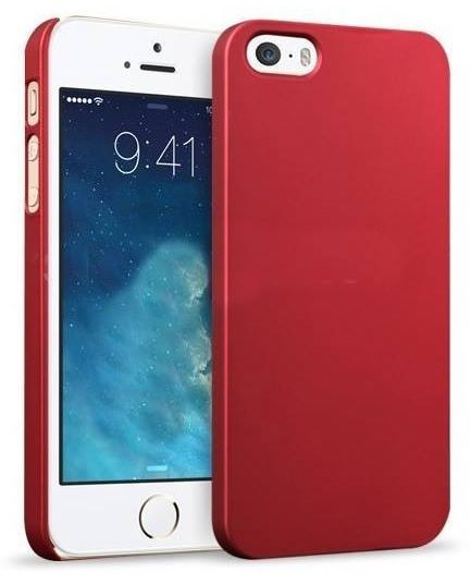 "Rubber Plastic Θήκη Πλαστική Κόκκινη (iPhone 6 Plus) - myThiki.gr - Θήκες Κινητών-Αξεσουάρ για Smartphones και Tablets - Rubber Red Plastic - iPhone 6 - 4.7"""