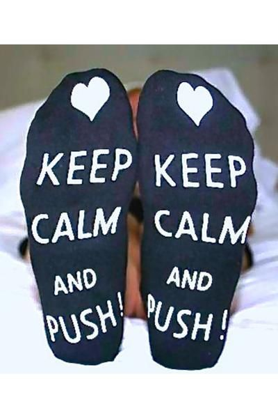 These push labor socks make the perfect baby shower gift or treat for yourself. Pack them in your hospital bag and you won't be sorry. Give yourself a push of motivation when it comes time to push during labor. Say no to the generic (and ugly) non-skid socks your labor nurse offers up and say yes to a cute pair of Baby Be Mine Keep Calm and Push! Labor Socks. Keep your feet warm and keep your footing on solid ground during labor. Pregnant moms will appreciate a little fun on their feet –…