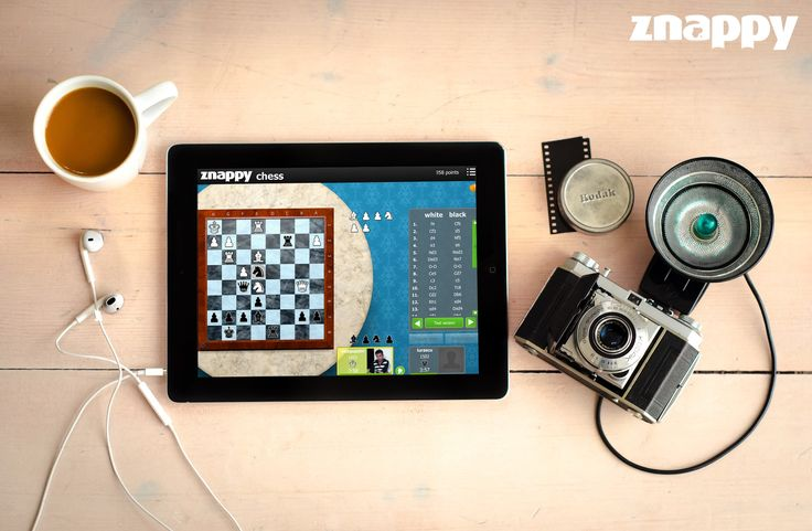 ♞ Znappy thinks you've relaxed too much your mind this summer and invites you to play Chess to keep your mind in balance! Think your move! ♞  #ZnappyGames #Chess