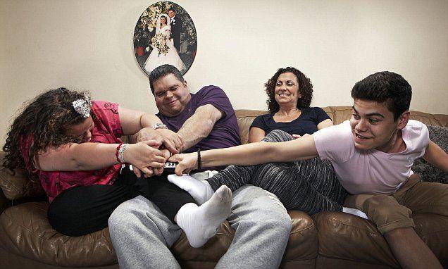 Gogglebox's Tapper family lose 'several stone'