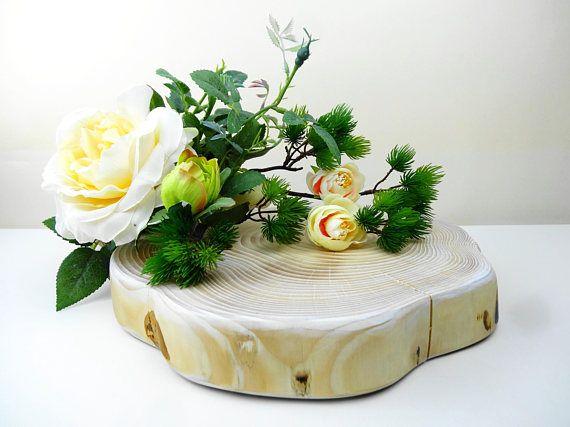 Wedding Cake Stand Wood Cake Stand Rustic Cake Stand Wood