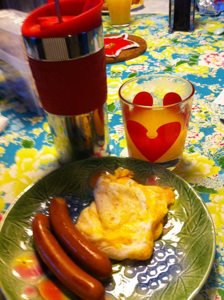 Breakfast at its best :-)