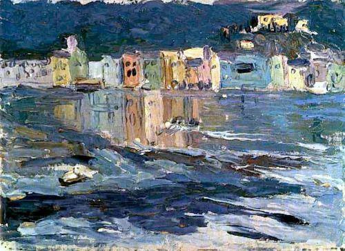 Wassily Kandinsky (1866-1944) Santa Marguerite (1906)