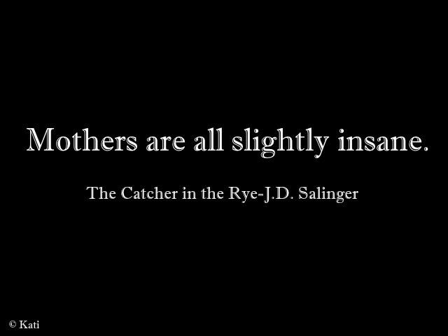 catcher in the rye manifesto The mystic in the rye: jd salinger's religious fiction  so the book was far more than a manifesto for  the most enduring moment in the catcher in the rye is.