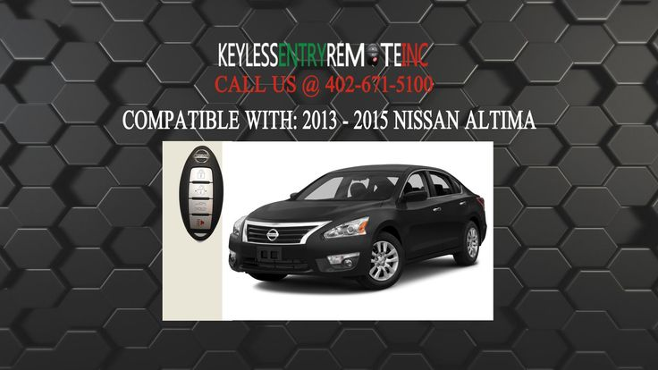 How to replace nissan altima key fob battery 2013 2015