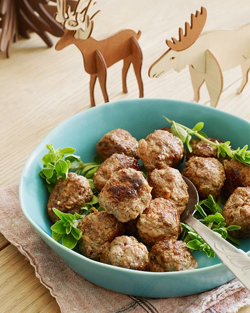 Norwegian Meatballs - I got this recipe directly from the Royal Chef of Arendelle, I'm sure all fans of Disney's FROZEN® will be very happy to help prepare these meatballs. It's so much fun to mix the ingredients and roll them into balls. And of course, the best part is eating them all up!