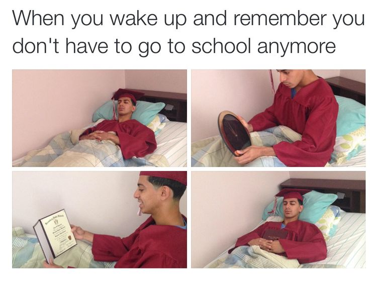 Lmao well technically yes I do I'm in college but not so early!