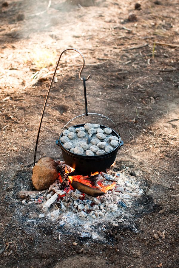 dutch oven cooking.