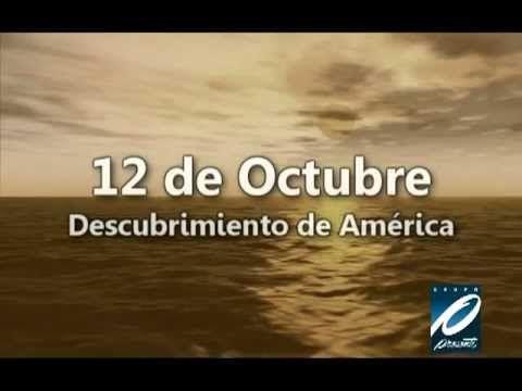 12 de octubre de 1492, video bueno para los principiantes. [3 mn, elocución rápida]
