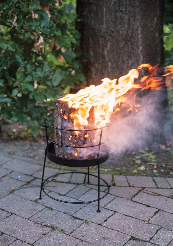 Esschert Design FF205 Fire basket for swedish torches