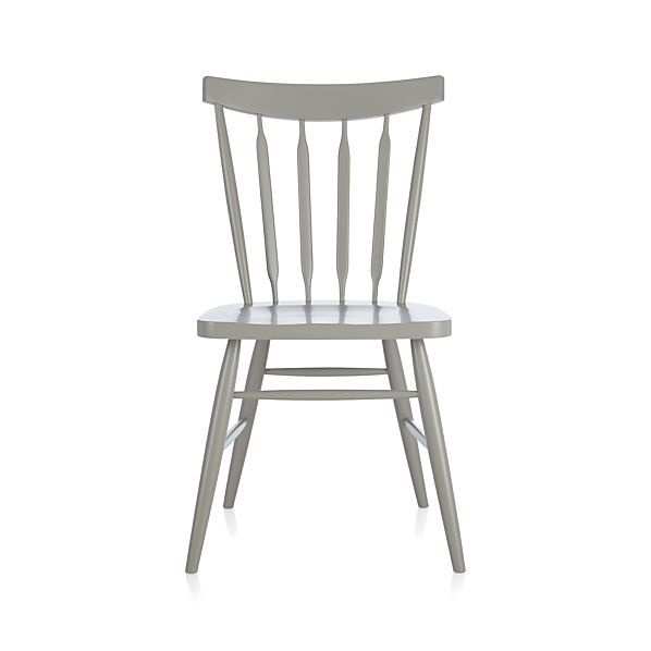Willa Dove Side Chair  | Crate and Barrel