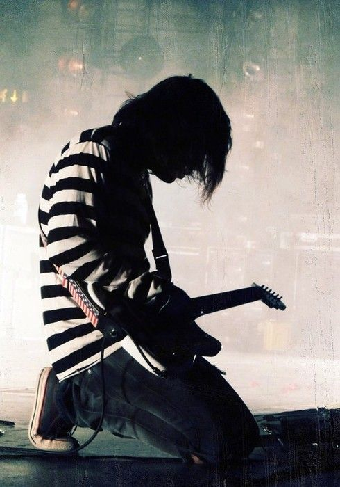 Frank Iero  So I haven't been on for a while. Spring Break. And the MCR break up. :'c i cant i just agh no ;'(