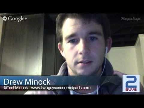 Entrevista a Drew Minock un de los creadores de apps dónde utilizan la realidad aumentada en la educación. #educacion #appeducacion