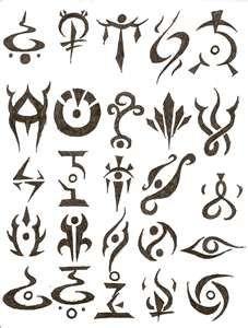 Small Tattoo Symbols, Loyalty, Life, Love