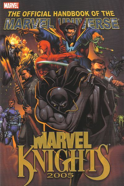 Official Handbook of the Marvel Universe: Marvel Knights 2005 by Pat Lee