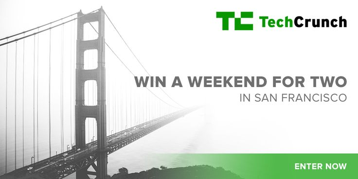 Win a weekend away in San Francisco including:  $1,000 towards round-trip flights 3 nights stay at the Axiom Hotel in SF An Exclusive SF drone flying experience  2 box-level seats at the Crunchies Awards $500 shopping spree at Azalea SF Boutiques