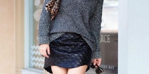 Η καπιτονέ mini φούστα!