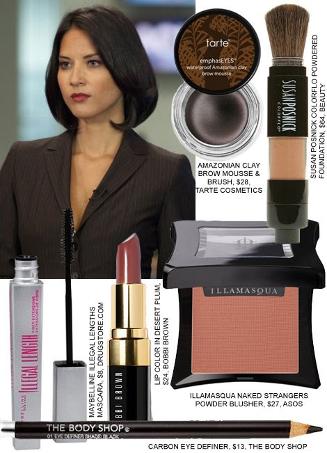 Copy Olivia Munn's Makeup From The Newsroom
