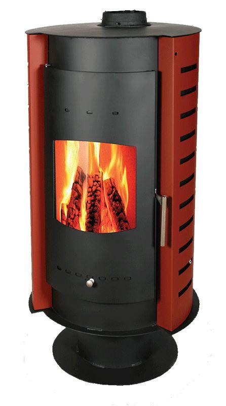 Thermiki estufa le a de 20kw 5kw de potencia capaz de - Estufa de lena para radiadores ...