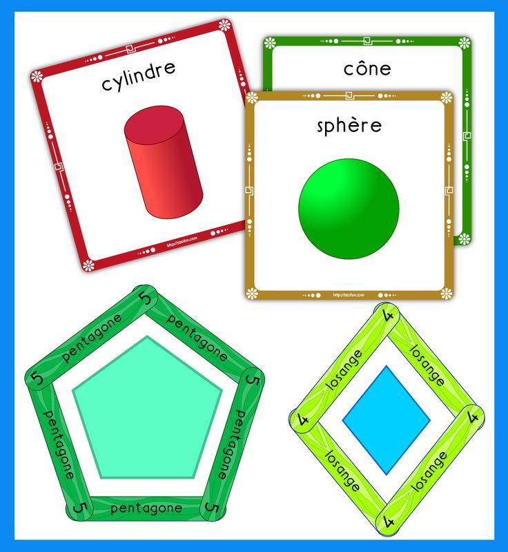 formes geometriques solides icone