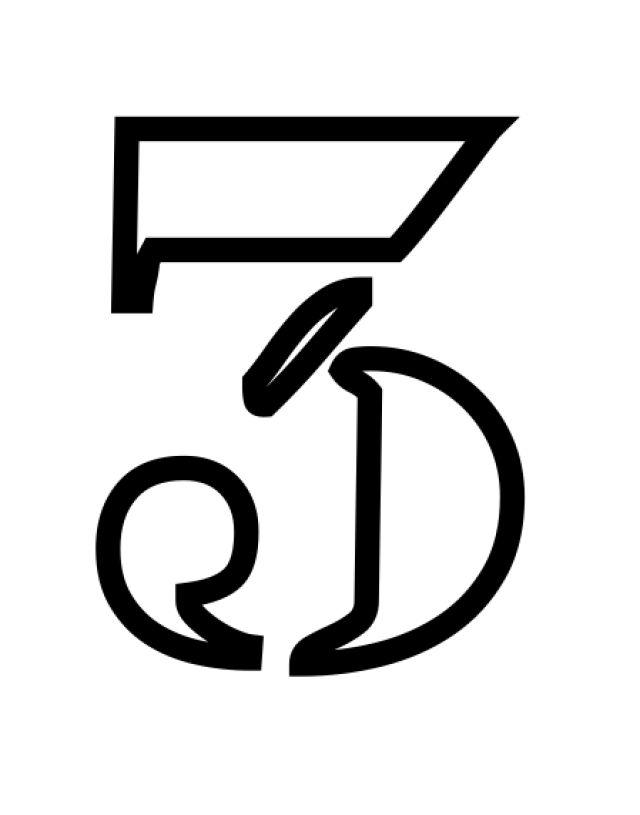 Plantillas de stencil de números y símbolos gratis para imprimir: Plantillas de stencils de números y símbolos gratis para imprimir: 3