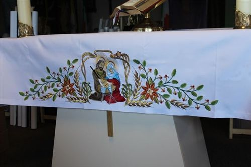 125 Best Images About Altar Table Cloth On Pinterest