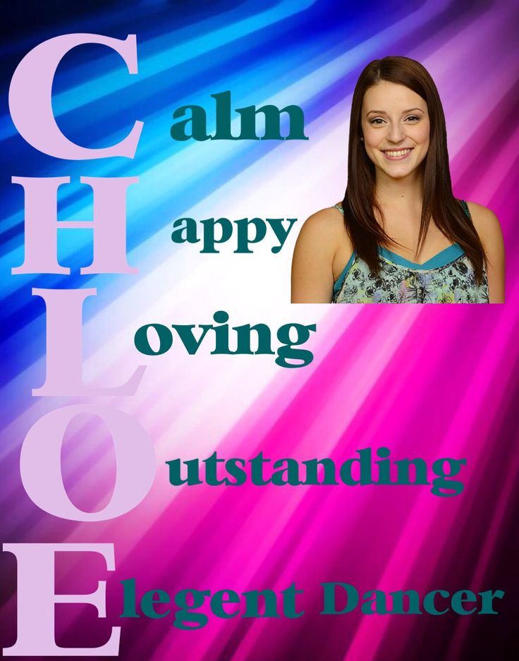 Chloe from The Next Step