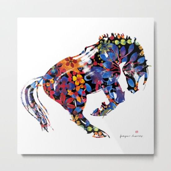 """Our metal prints are thin, lightweight and durable 1/16"""" aluminum sheet canvas…"""