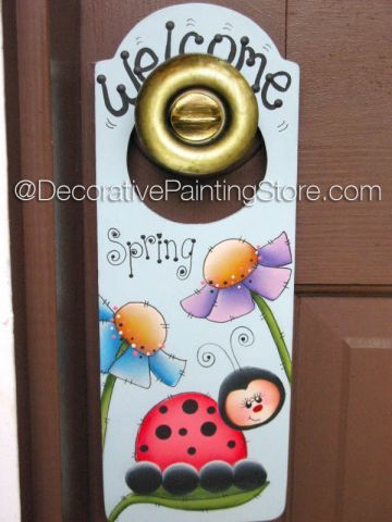 Spring Door Hanger ePacket - Susan Kelley - PDF DOWNLOAD