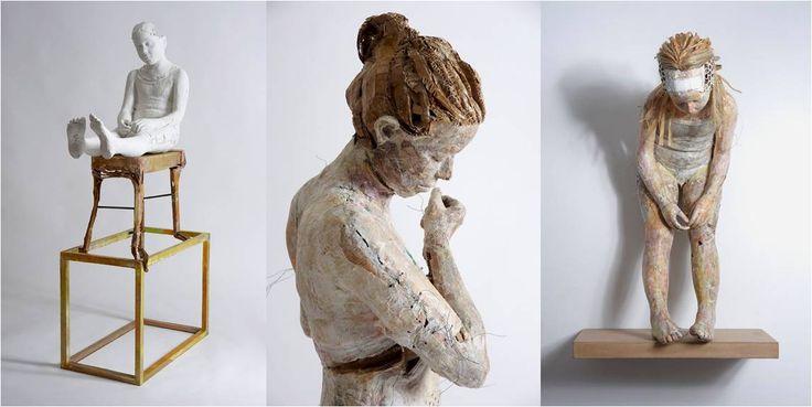 Resultado de imagen para arte con telas recicladas