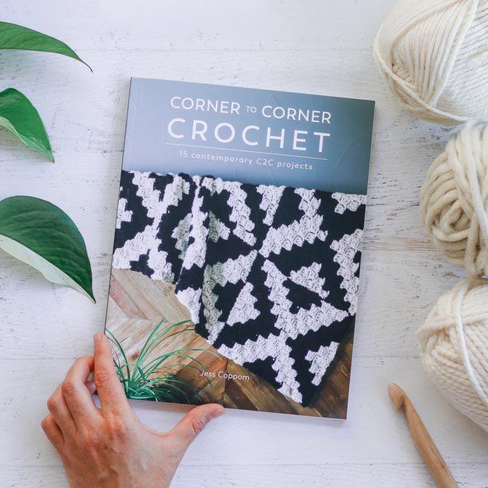 Corner To Corner Crochet Book by Jess Coppom of