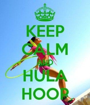 Hula Hooping Yourself Slim