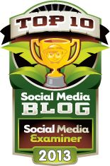 Nominate your fave blog of the year with Social Media Examiner - feel free to choose markitwrite.com/blog!