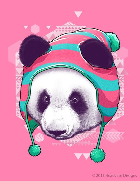 Fauna Hipsters for Headcase Designs. Visit www.head-cased.com for more info.