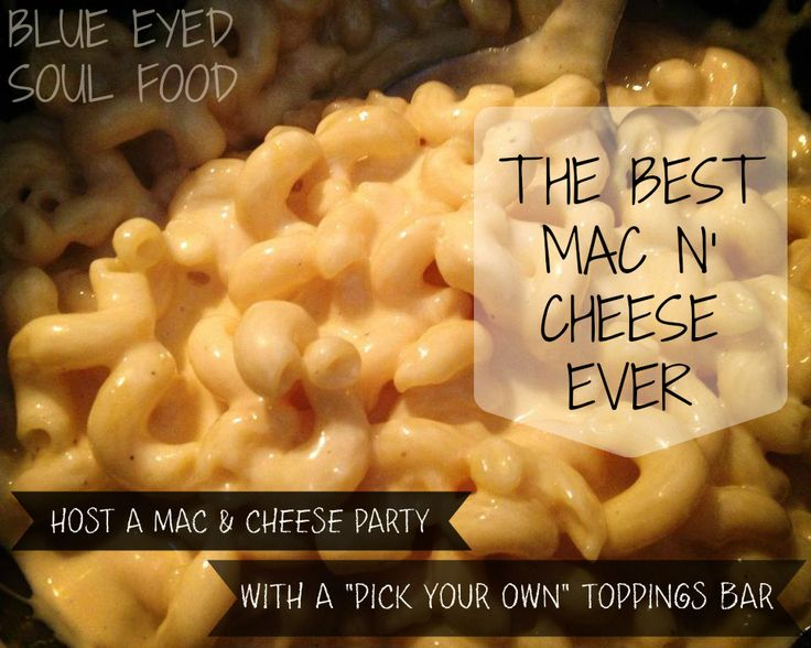 Do you guys have mac & cheese on your Thanksgiving table? We don't ...