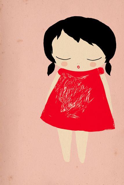 little girl: Little Girls, Ashley Cartoon, Flickr Photostream, Girls Generation, Art Journals, Art Prints, Girls Ashley Goldberg, Romantic Ideas, Illustrations Adoration5