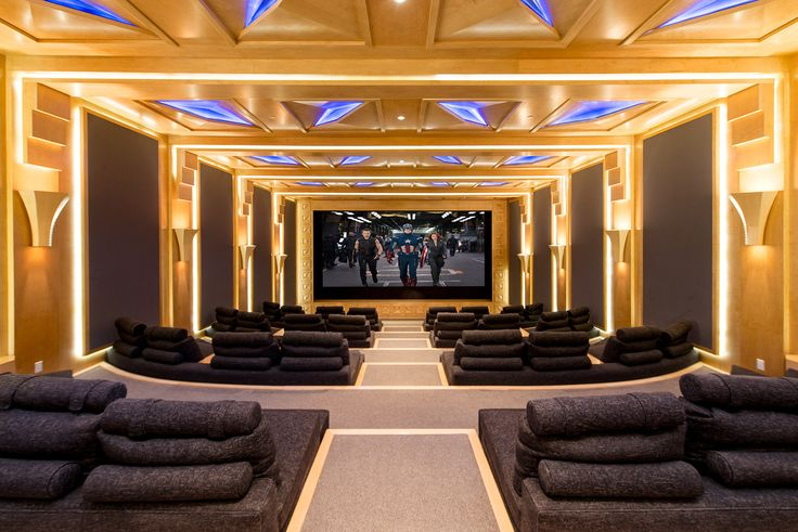 Beverly hills luxury home theatre all things luxury for Luxury home theater rooms