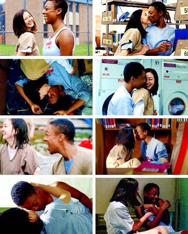 Pousoso: Poussey Washington and Brook Soso from Orange Is The New Black