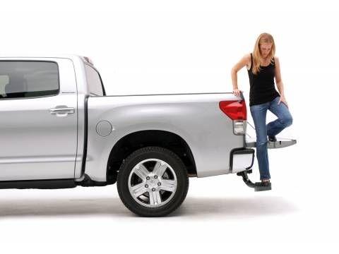 amp research bedstep tailgate step truck accessories trucks rh pinterest com
