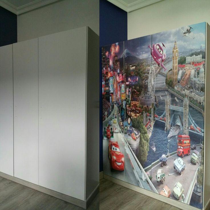 M s de 25 ideas incre bles sobre armarios infantiles ikea - Disenar habitacion ikea ...