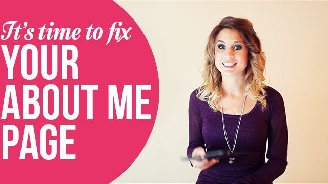 "Eight exclusive tips on creating an incredibly effective ""About Me"" page for your blog or website"